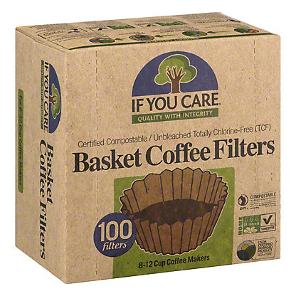 If You Care Coffee Filters Basket,100 CN