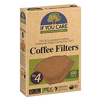 If You Care Coffee Filters No 4,100 CT