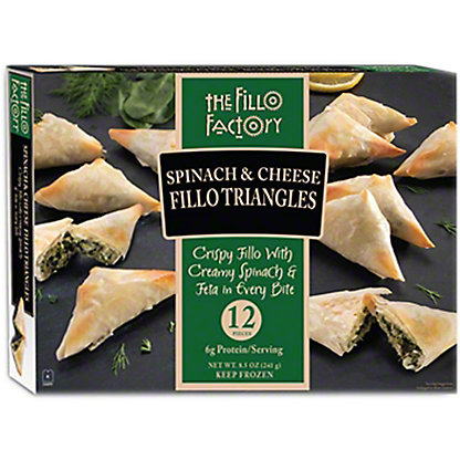 Fillo Factory Spinach Cheese Fillo Appetizers,12 OZ