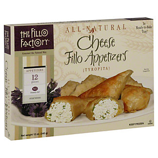 The Fillo Factory Cheese Fillo Appetizers,12 oz (340 g)