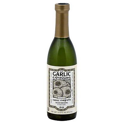 Garlic Expressions Classic Vinaigrette Salad Dressing and Marinade, 12.5 oz