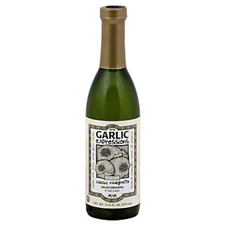Garlic Expressions Classic Vinaigrette Salad Dressing and Marinade, 12.5 oz