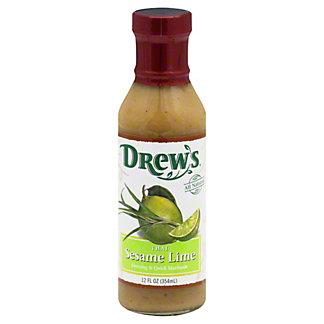 Drew's Thai Sesame Lime Dressing and Quick Marinade,12 OZ