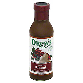 Drew's Rosemary Balsamic Dressing and Quick Marinade,12.5 OZ