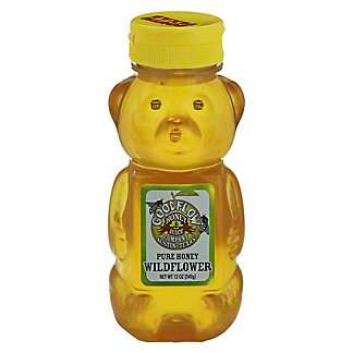 Good Flow Honey Company Pure Honey Bear, 12 oz