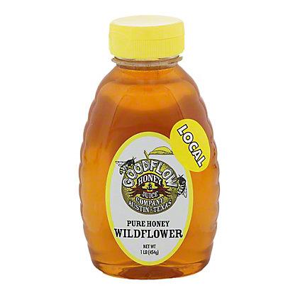 Good Flow Honey Company Pure Honey Wildflower, 1 lb