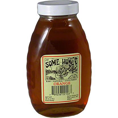 Some Honey Orange Blossom Honey,16 OZ