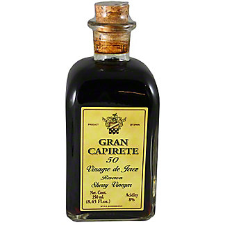 Gran Capirete 50 Sherry Vinegar Reserve, 8.45 oz