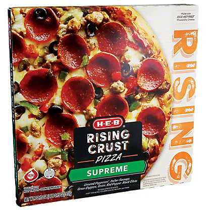 H-E-B Classic Selections Self Rising Supreme Pizza,32.7 OZ