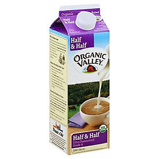 Organic Valley Half & Half,32 OZ