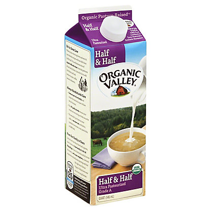 Organic Valley Half & Half,32 OZ