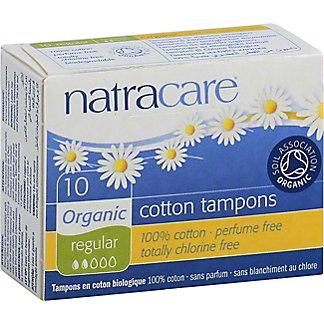 Natracare Natra Care Organic Tampons,10 CNT