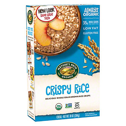 Nature's Path Organic Crispy Rice Cereal, 10 oz