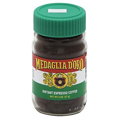 Medaglia Doro Instant Espresso Coffee, 2 oz