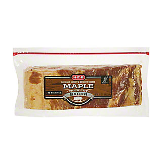 H-E-B Premium Thick Cut Maple Bacon, 24 oz