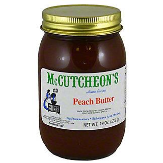 McCutcheons Peach Butter, 19 oz