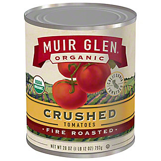 Muir Glen Organic Fire Roasted Crushed Tomatoes, 28 oz