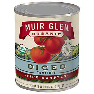 Muir Glen Organic Fire Roasted Diced Tomatoes, 28 oz