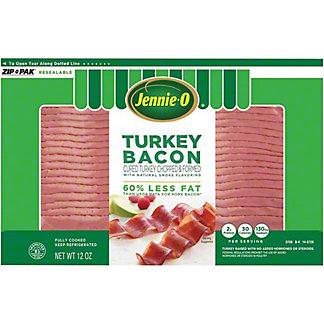 Jennie-O Turkey Bacon, 12 oz