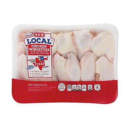 H-E-B Local Chicken Wingettes