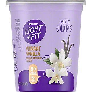 Dannon Light & Fit Nonfat Vanilla Yogurt,32 oz