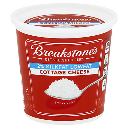 Breakstone's Small Curd 2% Milkfat Lowfat Cottage Cheese,24 oz