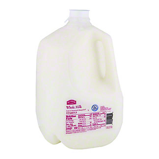 Hill Country Fare Whole Milk, 1 gal