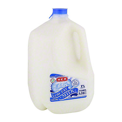 H-E-B Select Ingredients Low Fat 1% Milkfat Milk, 1 gal