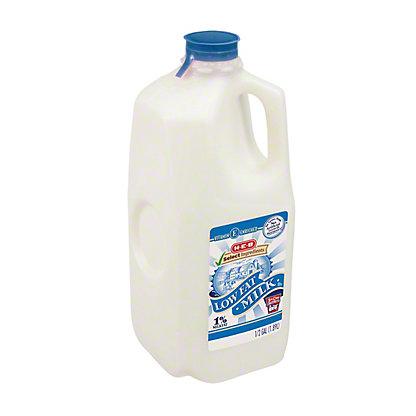 H-E-B Select Ingredients Low Fat 1% Milk,1/2 GAL