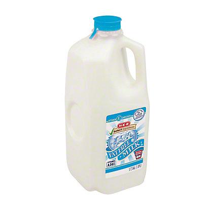 H-E-B Select Ingredients Fat Free Milk,1/2 GAL