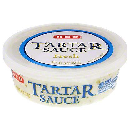 H-E-B Fresh Tartar Sauce, 8 oz