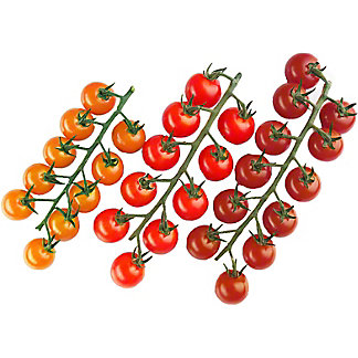 Fresh Cherry Tomatoes On The Vine, by lb