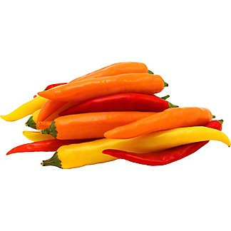 Fresh Finger Hot Long Peppers