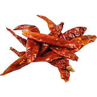 Dried Japone Peppers, lb