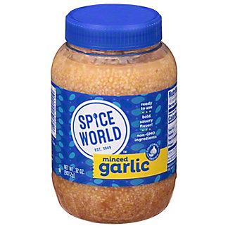 Spice World Minced Garlic,32 OZ