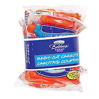 Fresh Baby-Cut Carrots,4 - 2.5 Oz