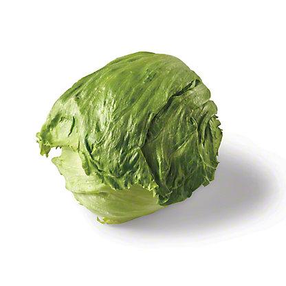 Fresh Iceberg Lettuce, EACH