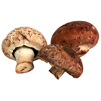 Fresh Baby Bella Mushrooms, sold by the pound