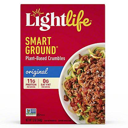 Lightlife Smart Ground Meatless Original Crumbles, 12 oz