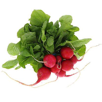 Fresh Organic Radish Bunch with Tops,EACH