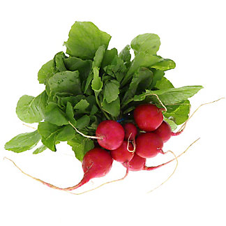 Fresh Organic Radish Bunch with Tops,EACH