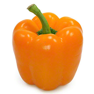 Fresh Organic Orange Bell Pepper,sold by the pound