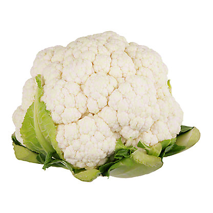 Fresh Organic Cauliflower, EACH