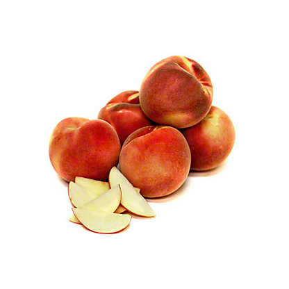 Fresh Organic White Flesh Peaches,LB