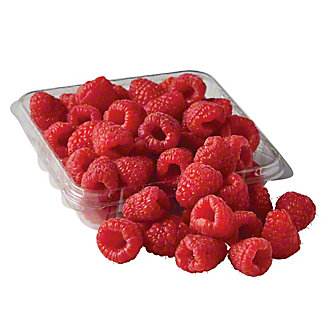 Fresh Organic Raspberries, 6 oz