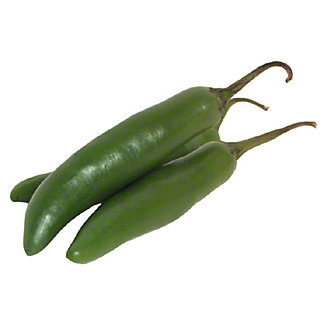 Fresh Organic Serrano Peppers,sold by the pound