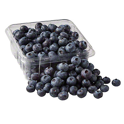 Fresh Organic Blueberries, 4.4 oz