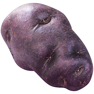 Fresh Organic Purple Potatoes
