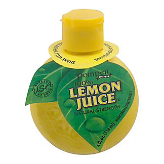 Pompeii Lemon Juice Squeeze Bottle,4 OZ