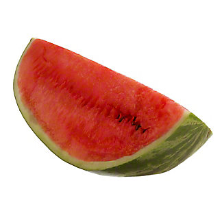 Fresh Seeded Watermelon Quarter, EACH